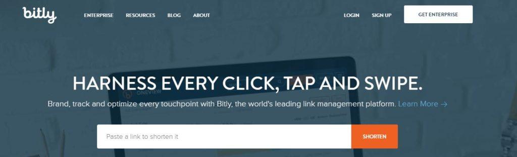 Bitly, herramienta acortador de enlaces, herramientas marketing online, herramientas marketing online 2018