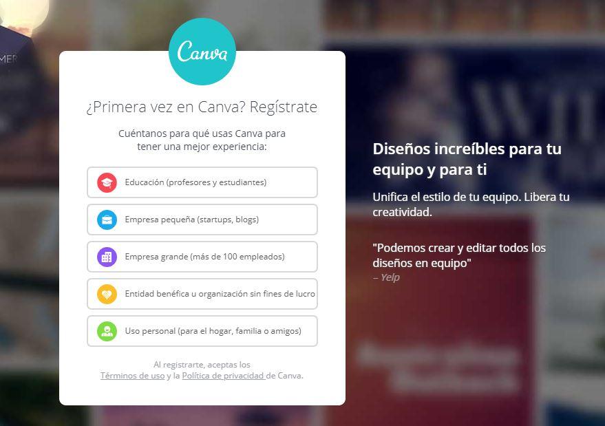 Canva, herramienta diseño imágenes, herramientas marketing online 2018