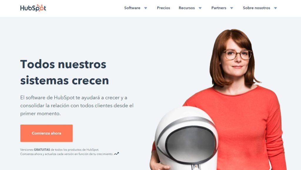Hubspot, herramientas inbound marketing, herramientas marketing online 2018
