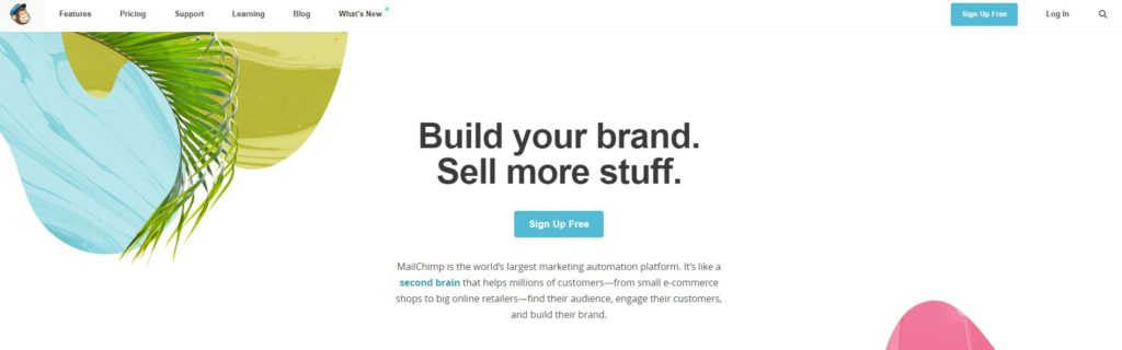 Mailchimp, herramientas email marketing, email marketing, herramientas marketing online 2018