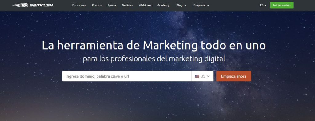 Semrush herramientas marketing, herramientas marketing online, herramientas marketing online 2018, semrush